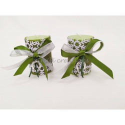 Κερί γούρι μικρο πράσινο